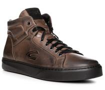 Schuhe Sneaker Leder graubraun