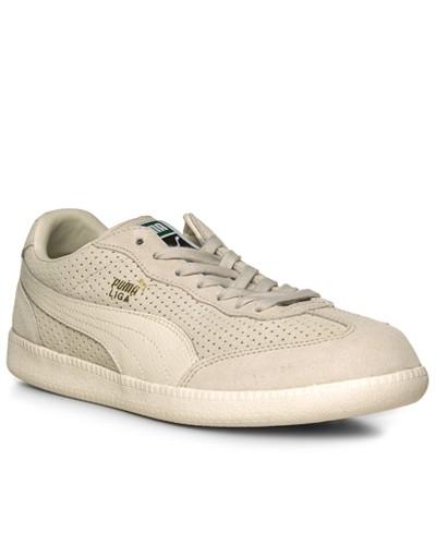 Puma Herren Schuhe Sneaker, Veloursleder, creme