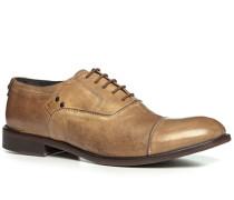 Herren Schnürschuhe Leder sand beige,braun,schwarz