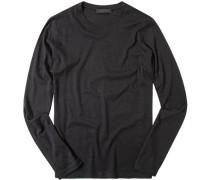 T-Shirt Longsleeve Baumwolle-Kaschmir