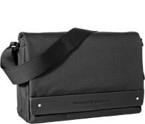 Tasche Messenger Bag Microfaser anthrazit