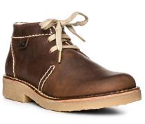 Schuhe Schnürboots, Leder warm gefüttert,