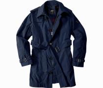 Mantel Polyester dunkelblau
