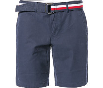 Hose Shorts, Regular Fit, Baumwolle, navy