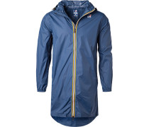 Regenjacke, Regular Fit, Microfaser wasserdicht