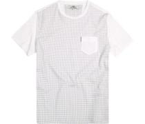 T-Shirt, Baumwolle, kariert