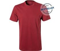 T-Shirt Pima-Baumwolle bordeaux