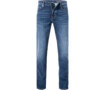 Blue-Jeans Shaped Fit Baumwolle denim