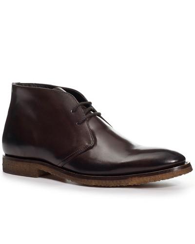 Schuhe Desert Boots, Kalbleder, testa di moro