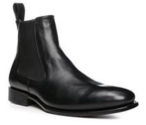 Schuhe Chelsea Boots Kalbleder glatt