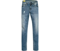 Jeans Slim Fit Baumwoll-Stretch