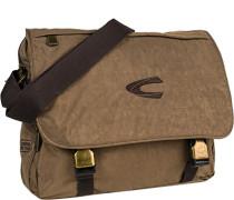 Tasche Messenger Bag, Microfaser, sand