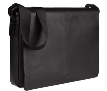 Tasche Messenger Bag, Leder,