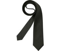 Herren Krawatte  schwarz