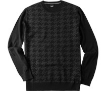 Pullover Woll-Mix gemustert