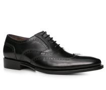 Schuhe Budapester, Kalbleder,