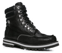Schuhe Boot Leder warm gefüttert