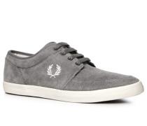 Schuhe Sneaker Veloursleder dunkelgrau ,blau