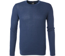 Pullover, Baumwolle, dunkelblau