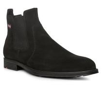 Schuhe PATRON, Velourskalbleder, schwarz