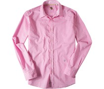 Hemd Baumwolle pink- kariert