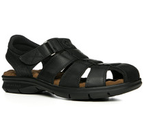 Herren Schuhe Sandalen Nappaleder schwarz schwarz,braun,schwarz