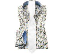 Oberhemd mit Krawatte