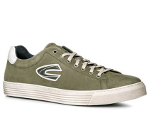 Schuhe Sneaker Nubukleder lindgrün