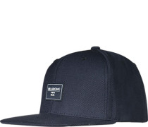 Cap, Microfaser-Wolle, Navy