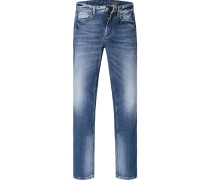 Jeans Shaped Fit Baumwoll-Stretch denim