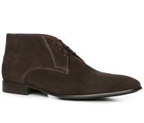 Schuhe Desert-Boots Veloursleder testa di moro
