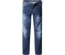 Jeans Slim Fit Baumwolle indigo