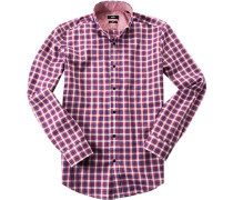 Hemd Slim Fit Oxford kariert