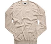 Herren RH-Pullover Schurwolle sand beige