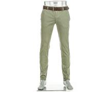 Hose Chino Rob Slim Fit Baumwolle T400® khaki