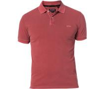 Polo-Shirt Polo, Baumwoll-Piqué, barolo