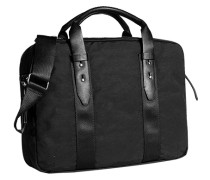 Herren Tasche  Business Bag Baumwoll-Mix schwarz