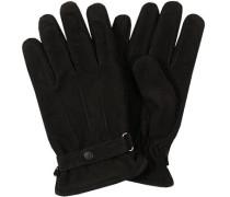 Herren  Handschuhe Nubukleder schwarz