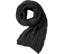 Schal Wolle graphit