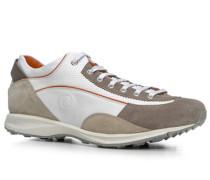 Herren Schuhe Sneaker 'Cortina 3' Leder-Textil-Mix beige-weiß