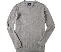 Pullover Baumwolle-Kaschmir meliert