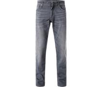 Jeans, Modern Fit, Baumwollle,