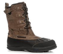 Schuhe Schnürstiefeletten Leder -braun