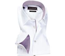 Hemd Custom Fit Popeline Extra langer Arm