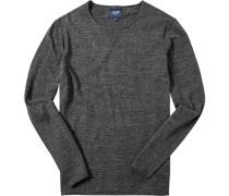 Pullover Baumwolle meliert