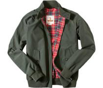Jacke Blouson Baumwolle COOLMAX® dunkelgrün