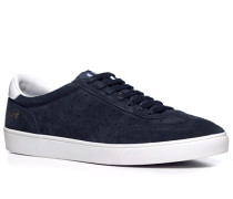 Herren Schuhe Sneaker Veloursleder navy blau,blau