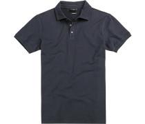 Polo-Shirt Polo Modern Fit Baumwoll-Pique navy