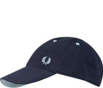 Cap, Baumwolle, nachtblau
