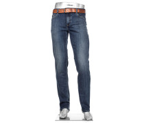 Cosy Jeans Pipe, Regular Slim Fit, Baumwoll-Stretch